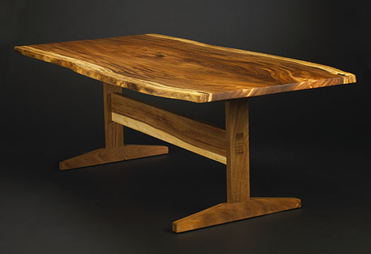 Monkey Pod Dining Table