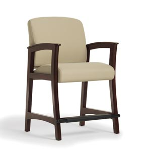 Capital Hip Chair, Wood Arm, Wood Cap By Wieland Healthcare Furniture