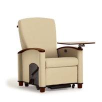 Cove Sleep Position Recliner, Wood Cap By Wieland Healthcare Furniture