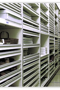 Specialized Museums Shelving, Drawer & Tray Storage on Designer Page