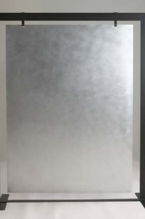 FS-94 Flat Screen Partition  Pumiced Aluminum on Designer Page
