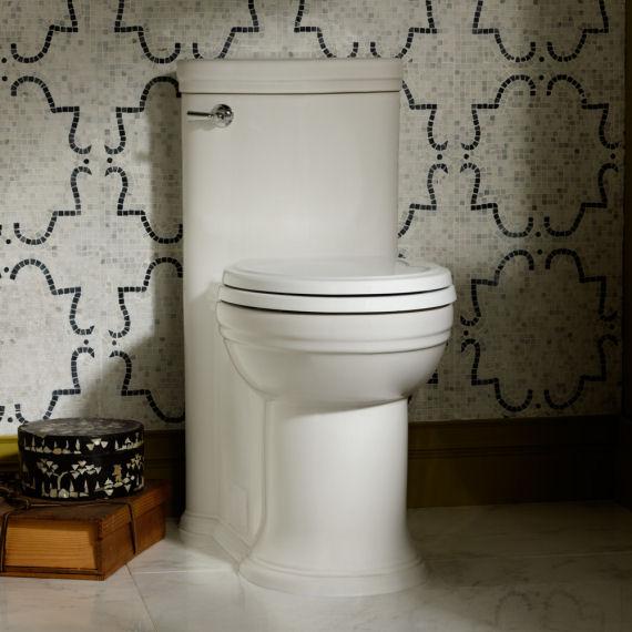 Amazing Archive Elongated High Efficiency 1 Piece Toilet On Creativecarmelina Interior Chair Design Creativecarmelinacom