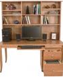 Computer workstation desk bookcase hutch 895 medium cropped