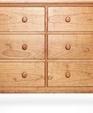 6 drawer vermont made shaker dresser medium cropped