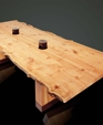 Live edge conference table data ports medium cropped