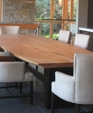 Live edge slab table custom base medium cropped