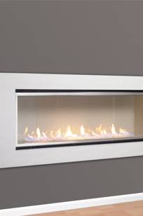 Halcyon Direct Vent Fireplace on Designer Page
