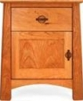 Cherry moon 1 drawer night stand with door large 909 medium cropped