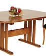 Natural vermont cherry trestle table 608 medium cropped