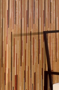 Sanfoot Nature's Plank Wallcoverings on Designer Page