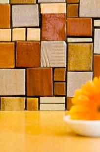 Hand Crafted Tile Art on Designer Page