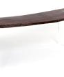 Reclaimed wood floating desk  medium cropped
