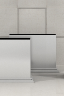 Rubic Planters and Walls on Designer Page