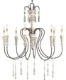 9120 swedish white washed wood chandelier medium cropped