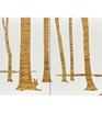 Trees graphic long print medium cropped