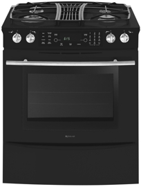 Downdraft Slide In Gas Range With Convection Jgs9900bdb