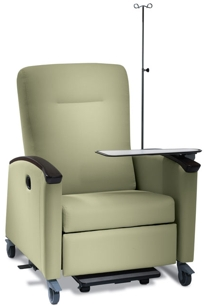 Symmetry Plus Treatment Recliner on Designer Page