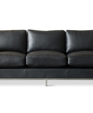 Trudeau sofa   black medium cropped