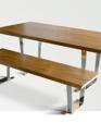 Chromed trestle table medium cropped