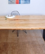 Elm wood table medium cropped