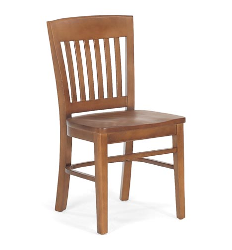 Wonderful Wooden Chair Side View Isolated On White Background File