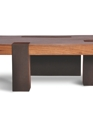 Tamburil coffee table 003 leather base medium cropped