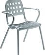 357 anodized aluminum armchair medium cropped