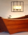 Euro style double tub w chandelier.jpg medium cropped