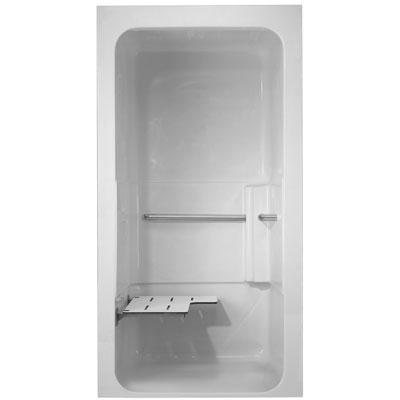 ada one piece barrierfree shower module model a363605d by fiat