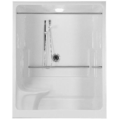 one piece shower module model a603604g rl by fiat