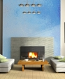 Artaic glowmosaic blue living room with fireplace medium cropped