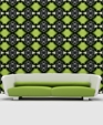 Black   white glamour lime flat medium cropped
