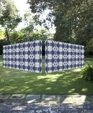 Jardin relief indigo sculpture wall © 2011 edge wallcoverings medium cropped