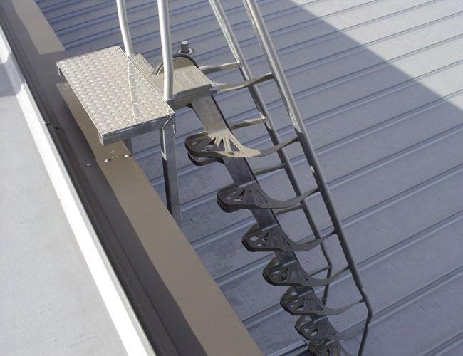 Aluminum Alternating Tread Stair