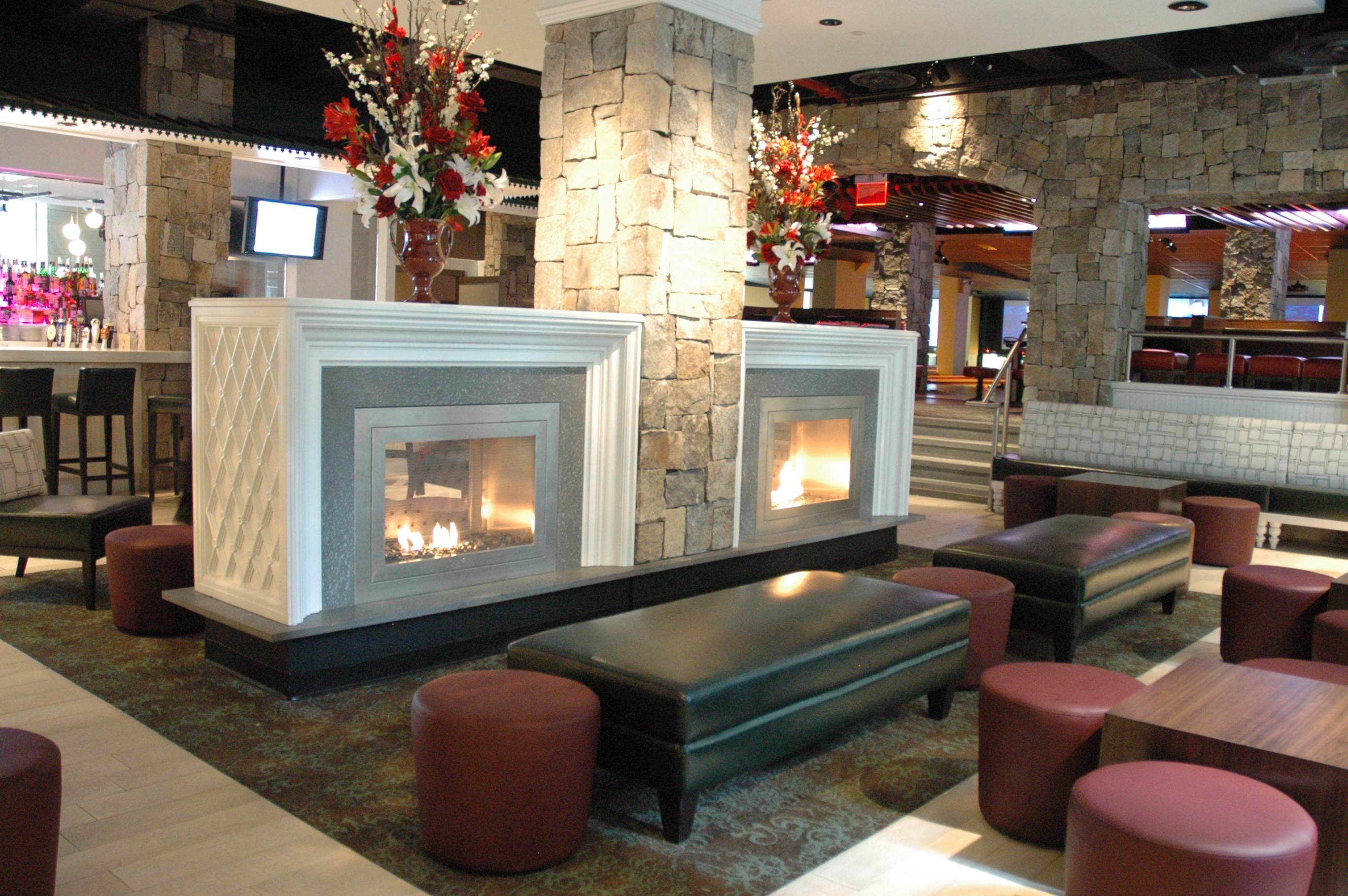 Wonderful Ventless Fireplaces By Hearth Cabinet