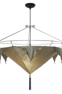 Bella Luna Chandelier on Designer Page