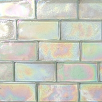 Mystic Green Iridescent Recycled Glass Subway Tiles Pe 312