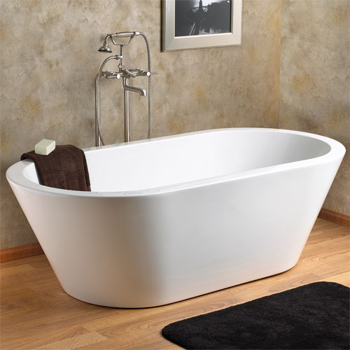 Collette Freestanding Acrylic Air Bath Tub on Designer Pages
