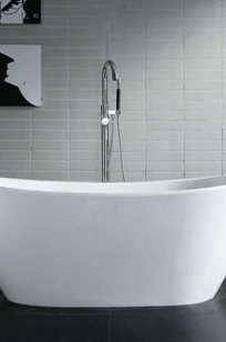 Winifred Freestanding Resin Air Bath Tub on Designer Page