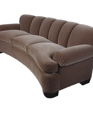 Curved sofa with feet medium cropped