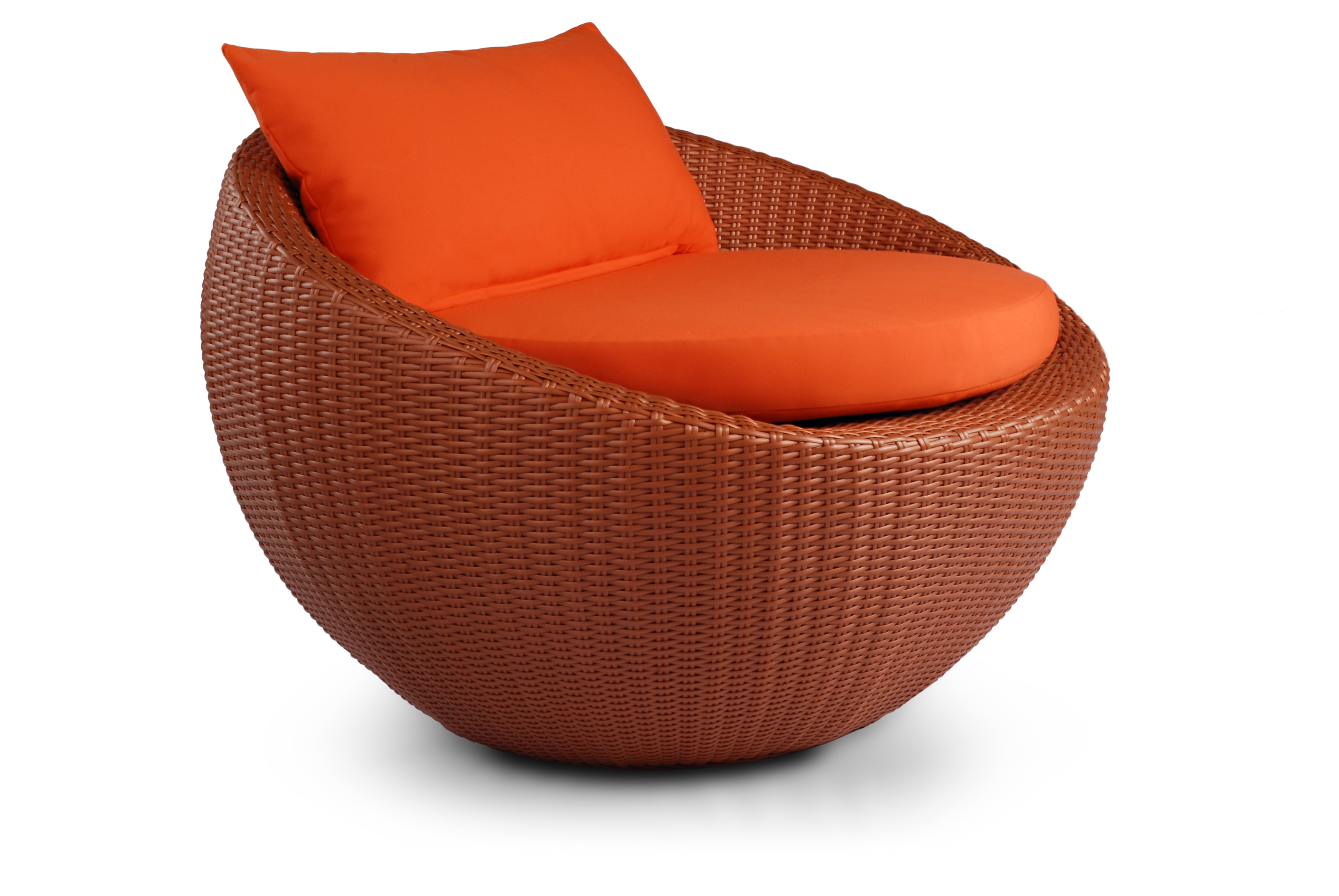 Circle Chair circle chair round wicker lounge chair, on designer pages