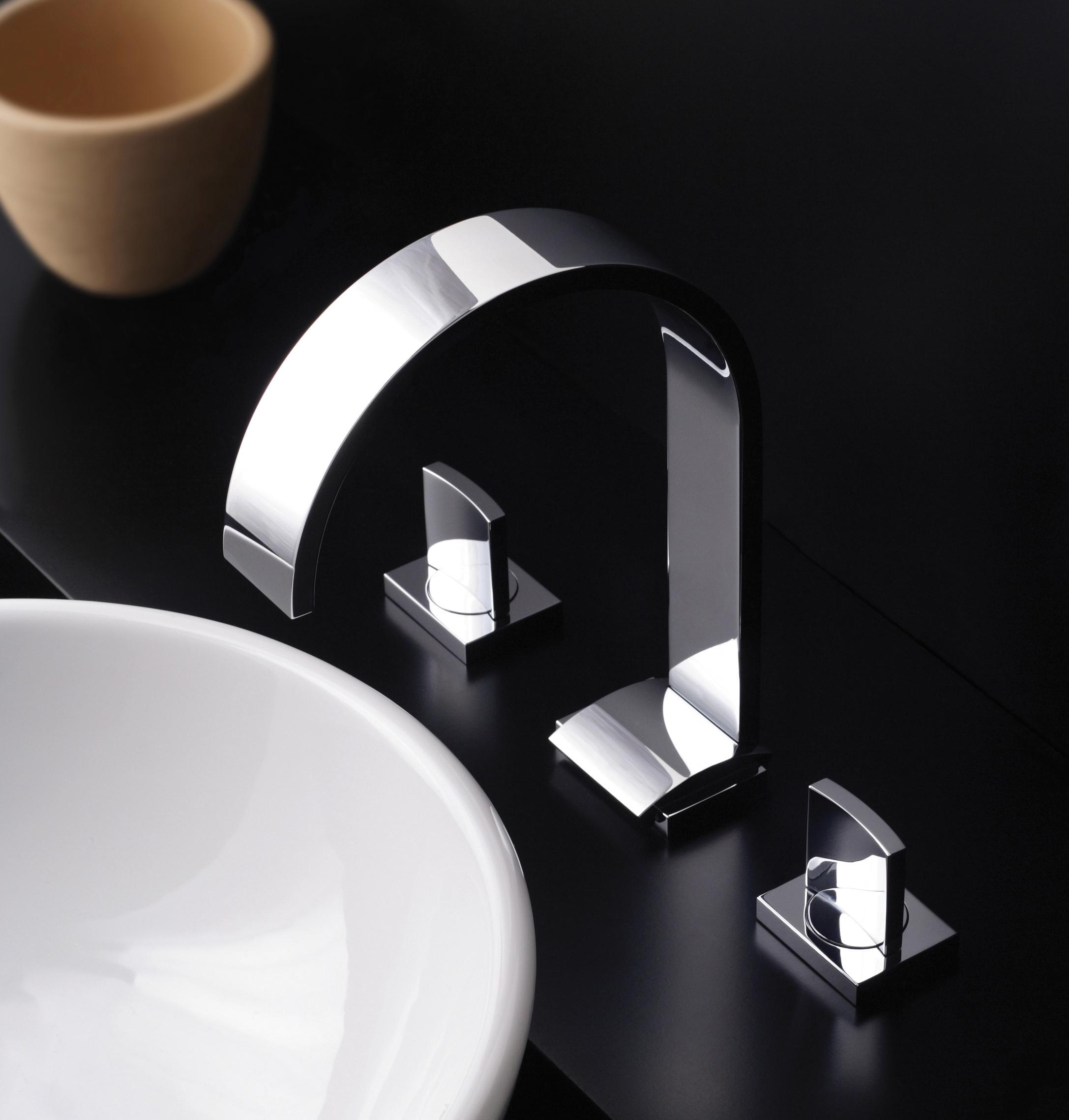Sade Lavatory Faucet by GRAFF. Graff s Sculptural  Sensual Sento Faucet   3rings
