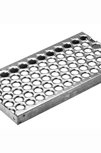 Plank Grating Stair Treads - Perf-O Grip® Large Hole on Designer Page