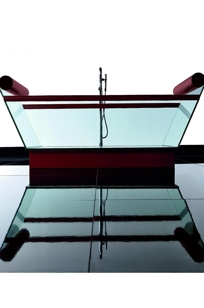 Milo Glass Bathtub on Designer Page