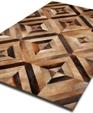 5078 cowhide patchwork rug medium cropped