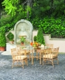 Chelsea dining chairs with octagon table medium cropped