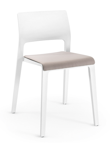 Juno - Seat pad and open backrest