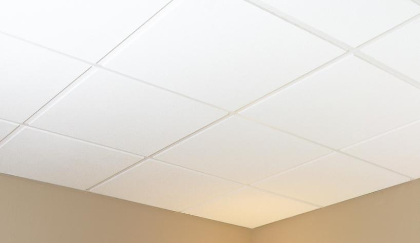 Sand Micro Customline Mineral Fiber Ceilings   SMCL 224 White