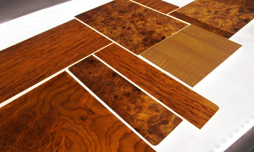 Dura Lite Translucent Wood Veneer Laminated Panels On