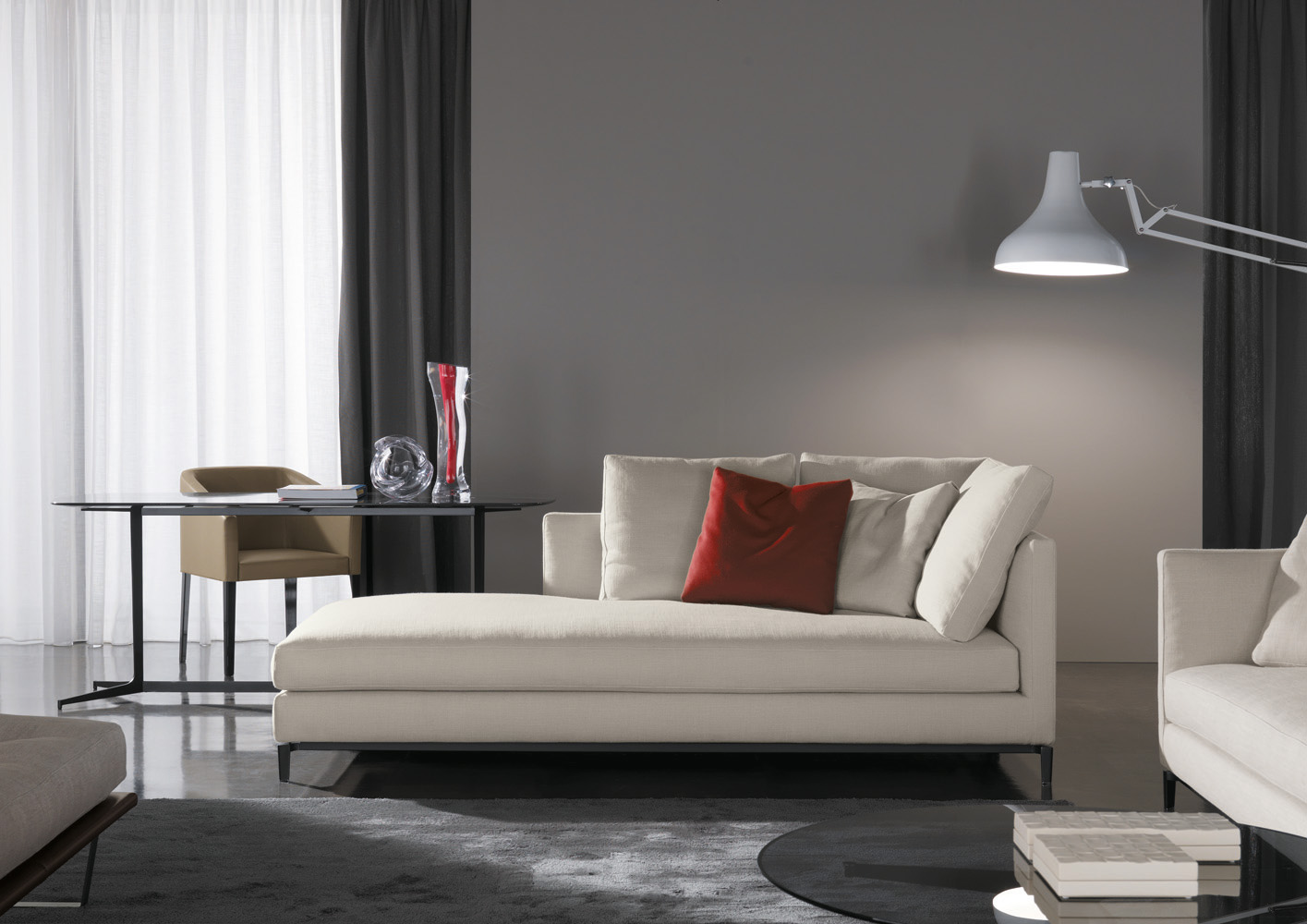 Andersen Slim Chaise Longue, on Designer Pages